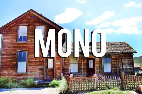 Hidden gems in mono county, california