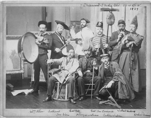 The original members of the Hidden City Orchestra | Alice Cunningham photo