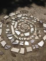 Spiral Labirint behind Hidden Forest Yoga Studio