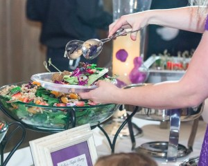 utah catering buffet table