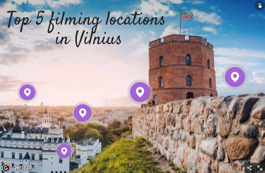 Top five filming locations in Vilnius
