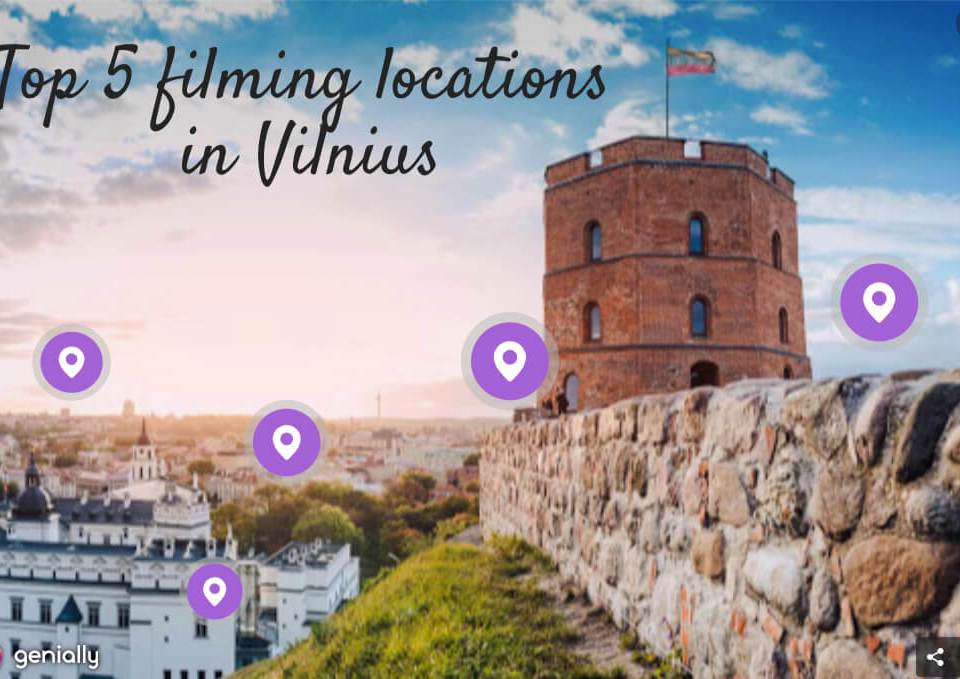 Top five filming locations in Vilnius