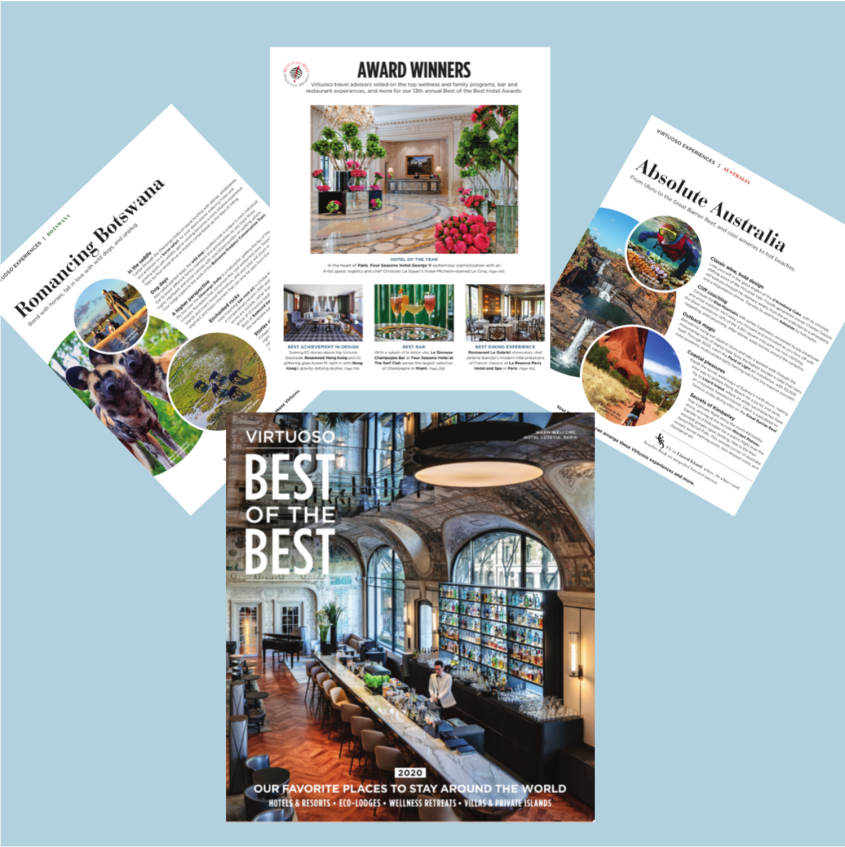 Would you like a copy of Virtuoso's Best of the Best Guide?