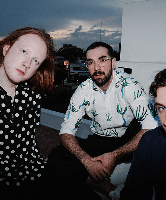 Photo of Two Door Cinema Club featured on Hidden Herd new music blog