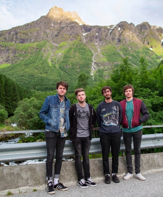 Photo of BOYS featured on Hidden Herd new music blog