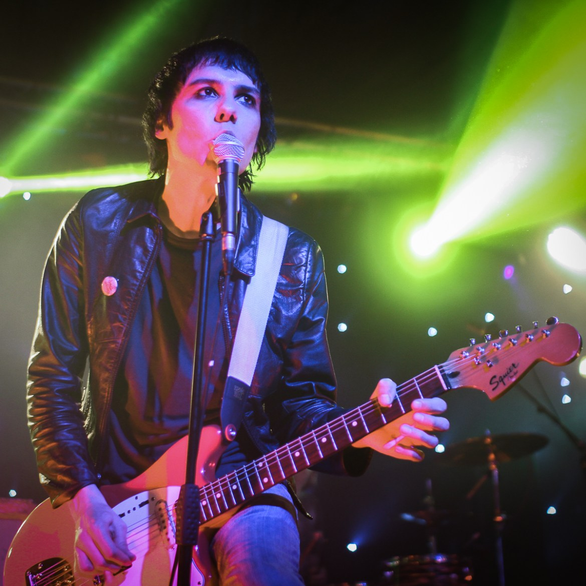 Photo of The Cribs featured on Hidden Herd new music blog