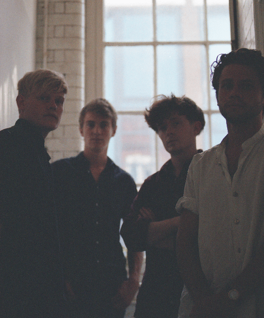 Photo of Comforts featured on Hidden Herd new music blog