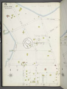 Image of Fire Insurance Map of College Point, Queens watermarked with New York Public Library logo