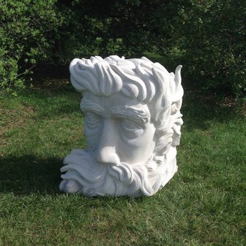 Mike McCarthy's Limestone Sculpture
