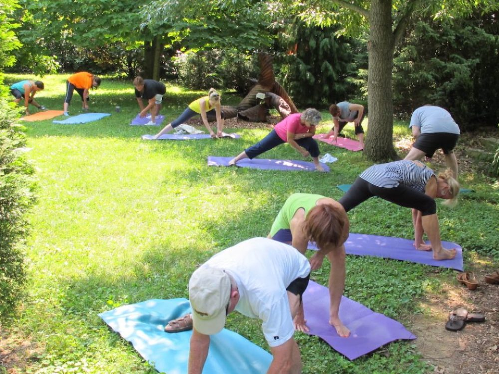 Yoga at Hidden Hill Nursery 2