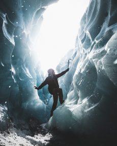 Ice Climb   Hidden Iceland