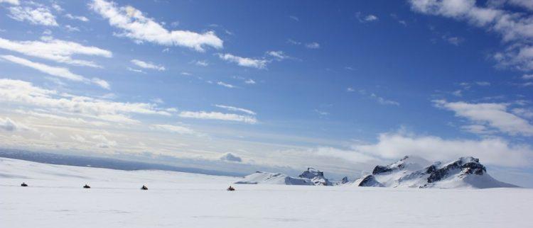 Snowmobile Tour   Hidden Iceland