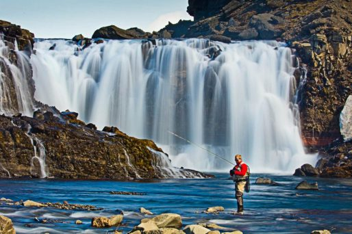 Fishing Highlands Waterfall Fly Fishing Tour | Hidden Iceland