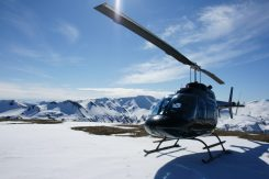 Norðurflug Snowy Landing | Helicopter Tours | Hidden Iceland