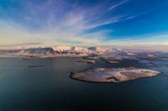 Mount Esja in Wintertime   Helicopter Tours   Hidden Iceland