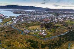 Reykjavik in Autumn from Elliðaárdalur   Helicopter Tours   Hidden Iceland