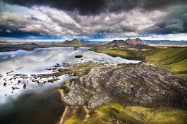 Frostastaðavatn Lake | Helicopter Tours | Hidden Iceland