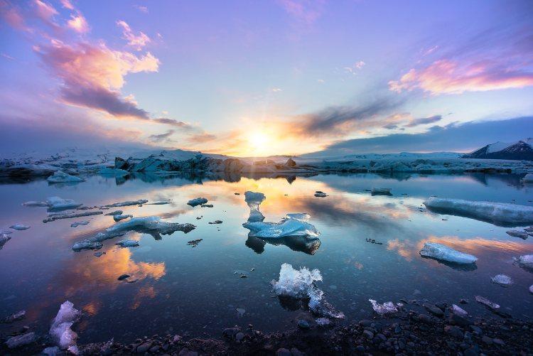 Iceland Midnight Sun