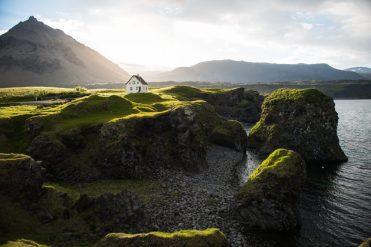 Arnastapi In The Midnight Sun | Hidden Iceland | Photo by Tom Archer