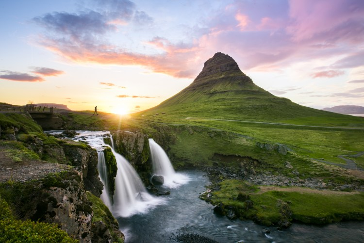 Iceland Midnight Sun