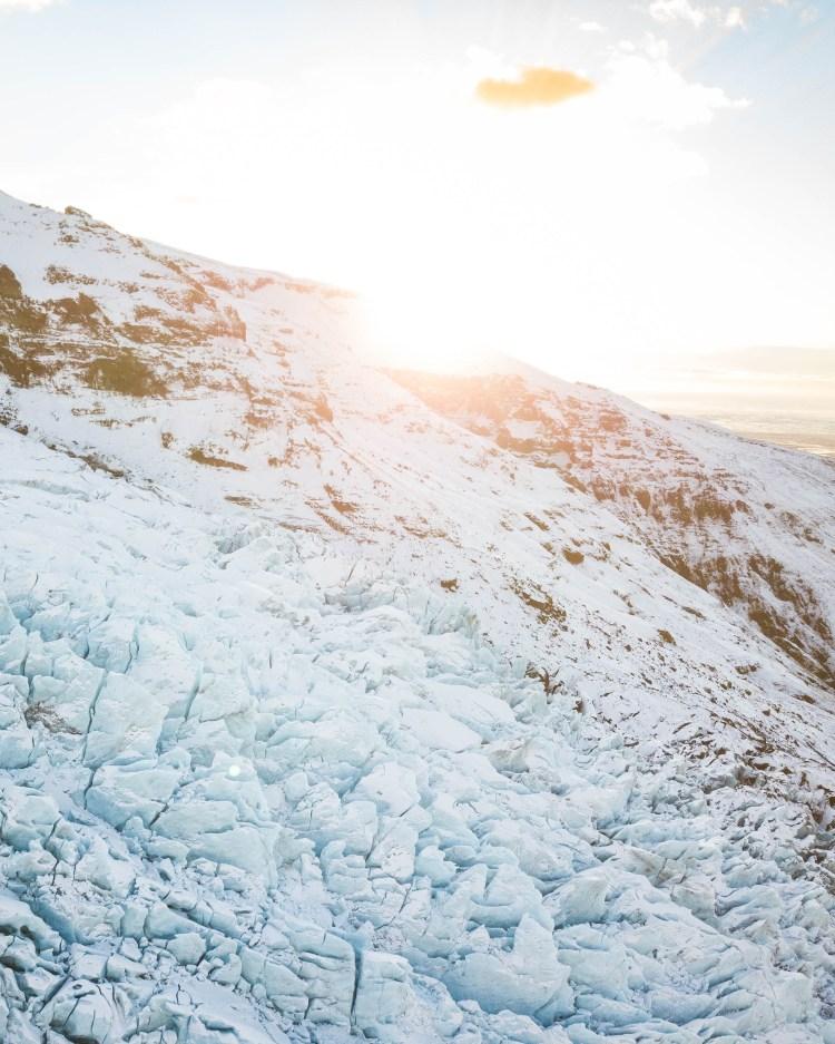 Falljökull Glacier | Hidden Iceland | Photo by Jonny Livorti