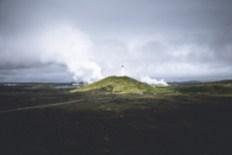 Reykjanesviti Lighthouse | Between Continents Reykjanes & Lava Tunnel tour | Hidden Iceland | Photo by Norris Niman