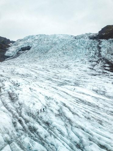 Falljökull glacier   Jökulsárlón Glacier Lagoon 2 Day Tour   Hidden Iceland   Photo by Denny Mcgee
