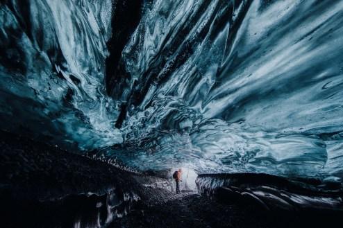 Treasure Island Ice Cave | Ice Cave Discovery Tour | Hidden Iceland | Photo by Ömar Acar