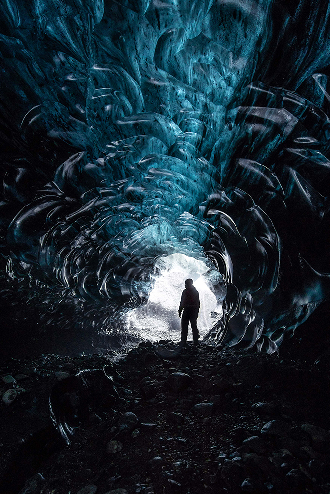Treasure Island Ice Cave | Ice Cave Discovery Tour | Hidden Iceland | Photo by Ömar Acar