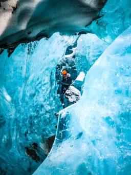 Blue Diamond Ice Cave   Ice Cave Tour   Hidden Iceland   Photo by Magnús Snæbjörnsson