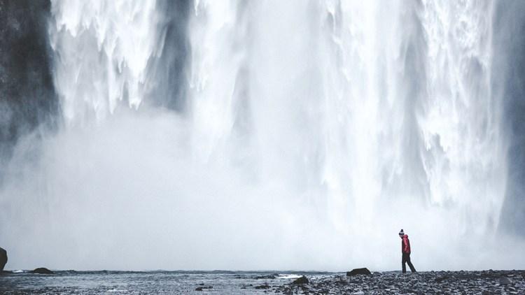 Skógafoss Waterfall | Jökulsárlón Glacier Lagoon 2 Day Tour | Hidden Iceland | Photo by Norris Niman