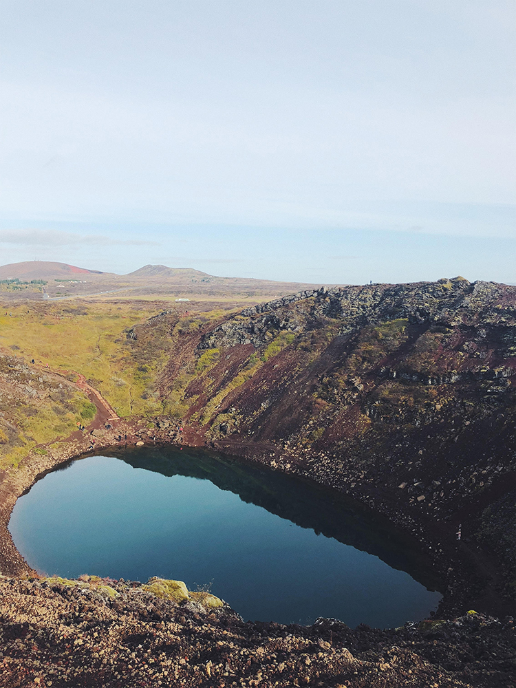 Kerið Crater | Golden Circle: Platinum Tour | Hidden Iceland | Photo by Dagný Björg Stefánsdóttir