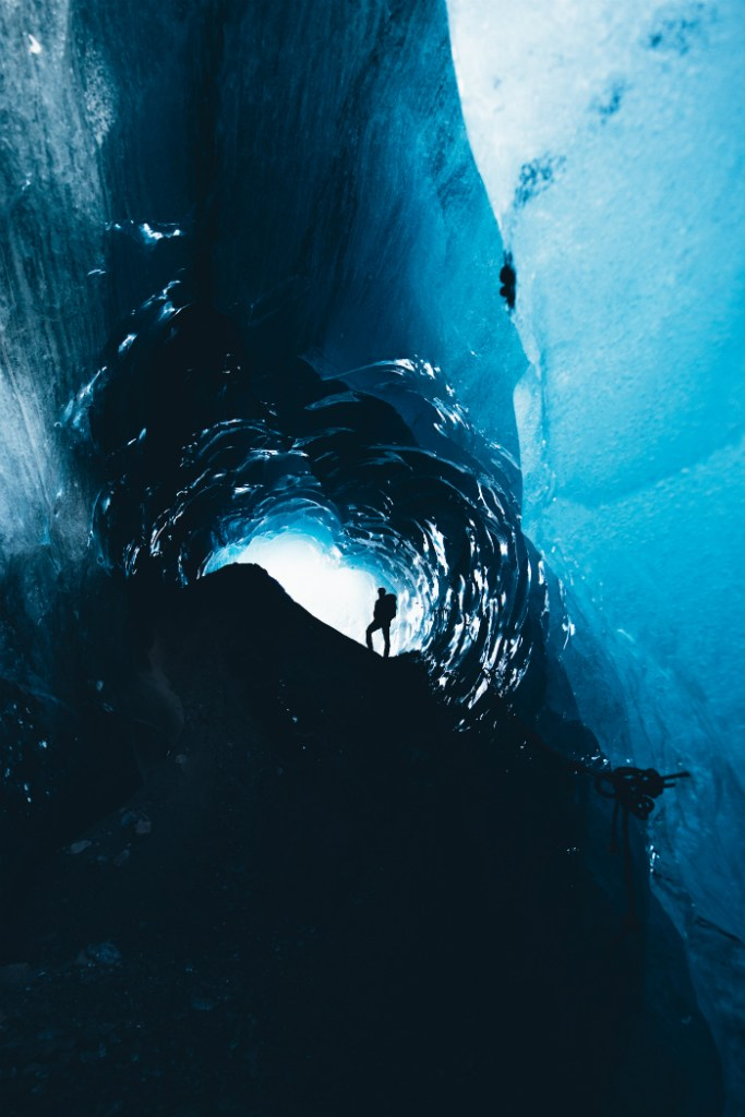 Ice Cave on Falljökull 2017-18 | Ice Cave Tour | Hidden Iceland | Photo by Brendan Bannister