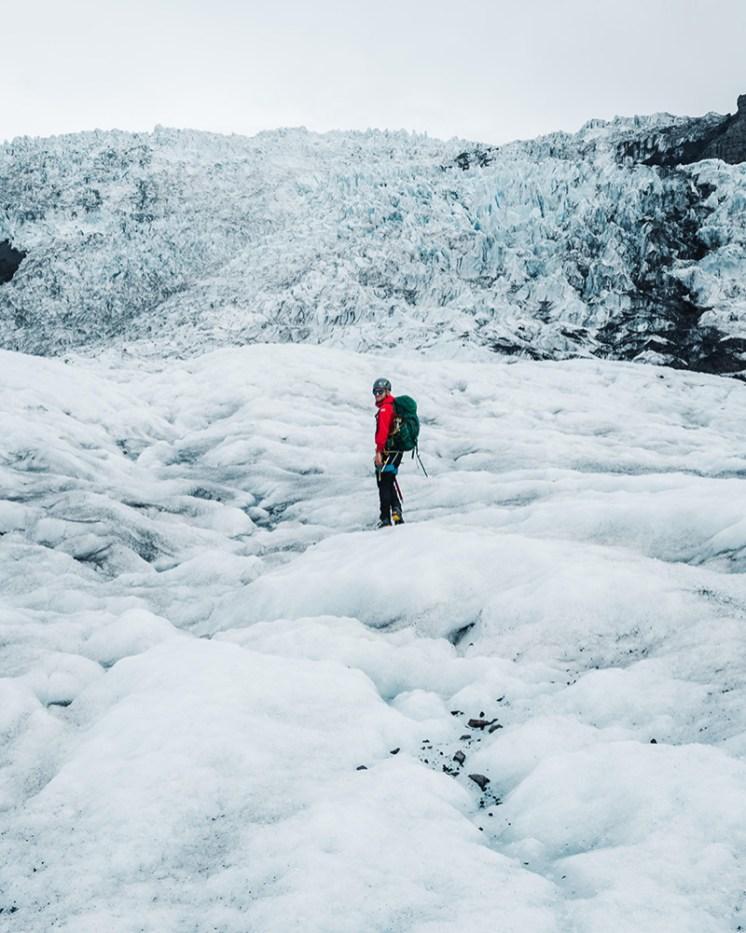 Glacier hike on Falljökull