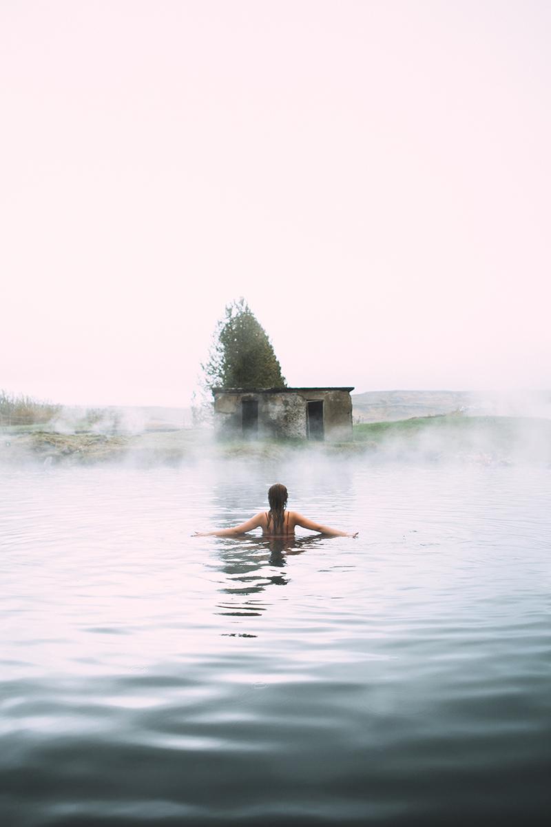 Secret Lagoon | Hidden Iceland | Photo by Kat Craats