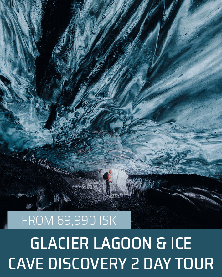 Jökulsárlón Glacier Lagoon & Ice Cave Discovery 2 Day Tour | Small Groups, Personalised Trips | Hidden Iceland
