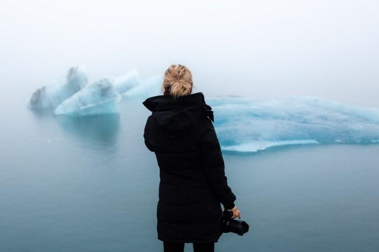 Jökulsárlón Glacier Lagoon Icebergs | Jökulsárlón Glacier Lagoon 2 Day Tour | Hidden Iceland | Photo Dennis Stever