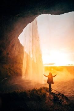 Seljalandsfoss at Sunset | Hidden Iceland | Photo Danny Mcgee