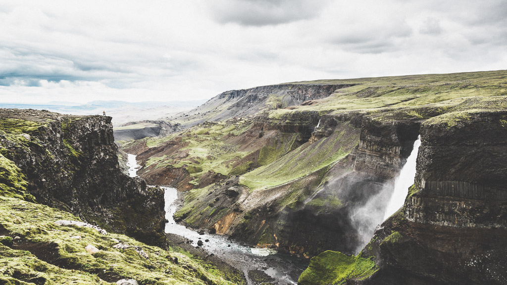 Háifoss View Highlands Iceland | Hidden Iceland | Photo Norris Niman