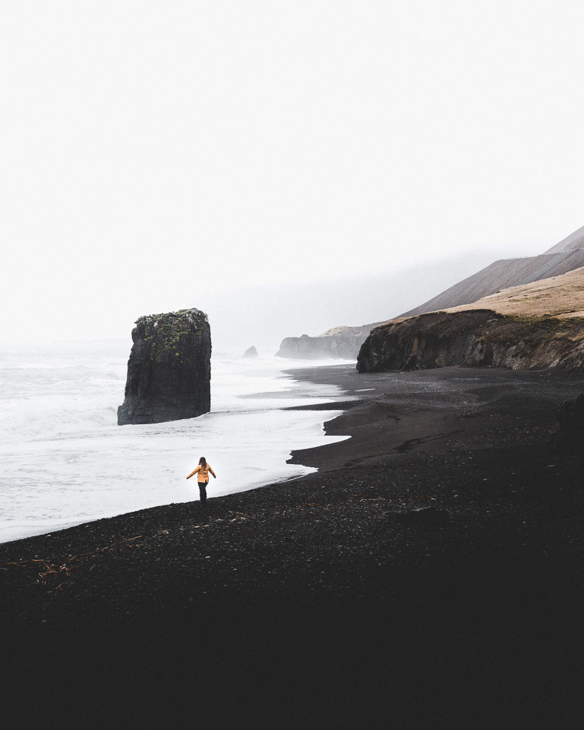 Eastfjords Black Sand Beach | Hidden Iceland | Photo Norris Niman