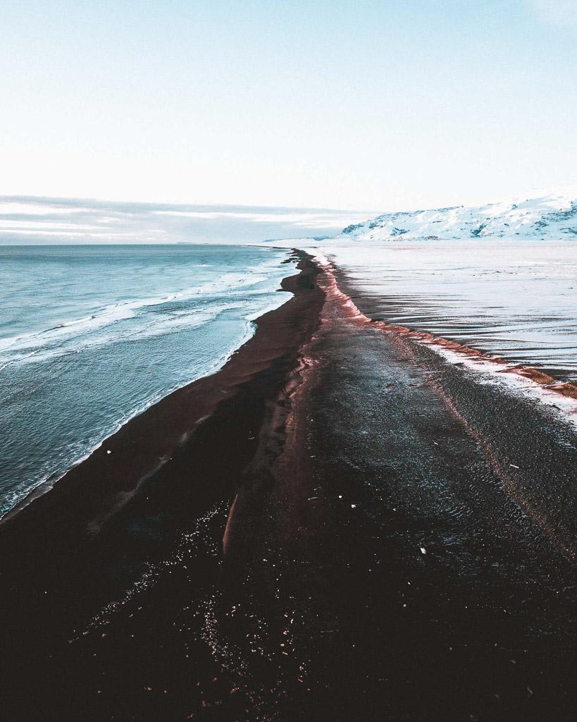Dyrhólaey Black Beach View | Hidden Iceland | Photo Norris Niman