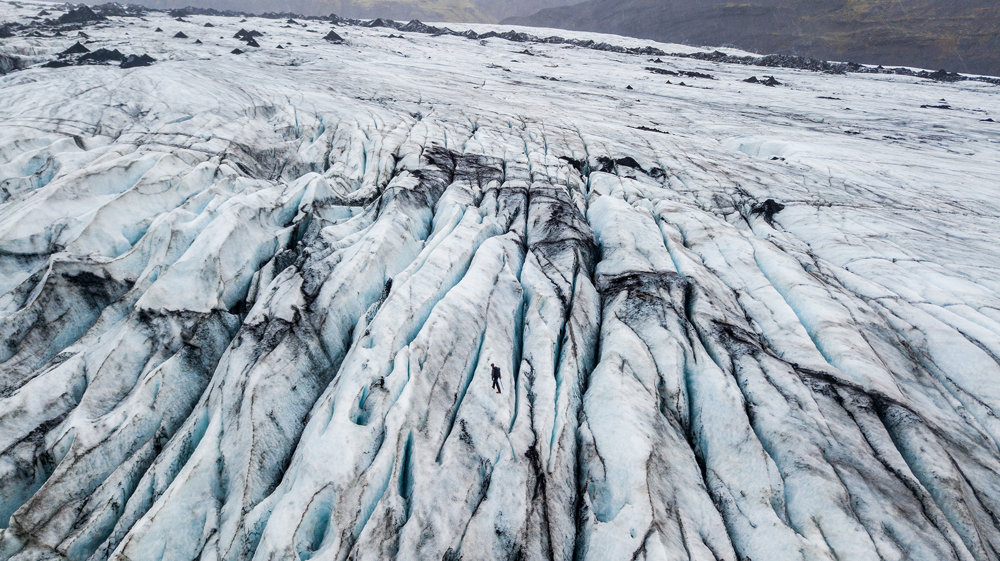 Sólheimajökull Glacier Hike | South Coast: Fire & Ice Tour | Hidden Iceland | Photo Danny Mcgee