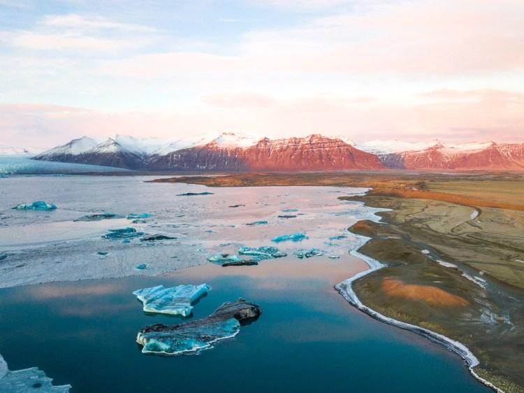 Jökulsárlón Glacier Lagoon. Photo by Brendan Bannister. Feature