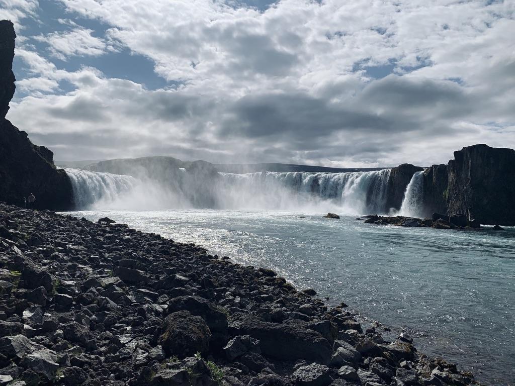 Goðafoss waterfall, North Iceland. Hidden Iceland. Photo by Dagný Björg Stefánsdóttir
