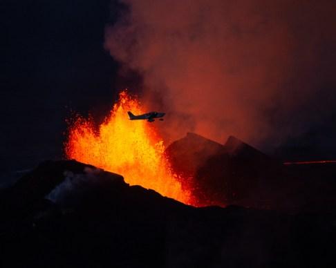 The Bárðarbunga eruption. By Helen Maria Björnsdóttir. Local Guide of Vatnajokull.