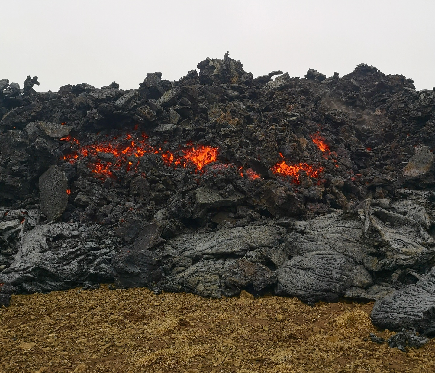 A'a Lava (2-3m thick) at the Gerlingadalur Volcano by Dr. Holly Spice. Hidden Iceland (6).