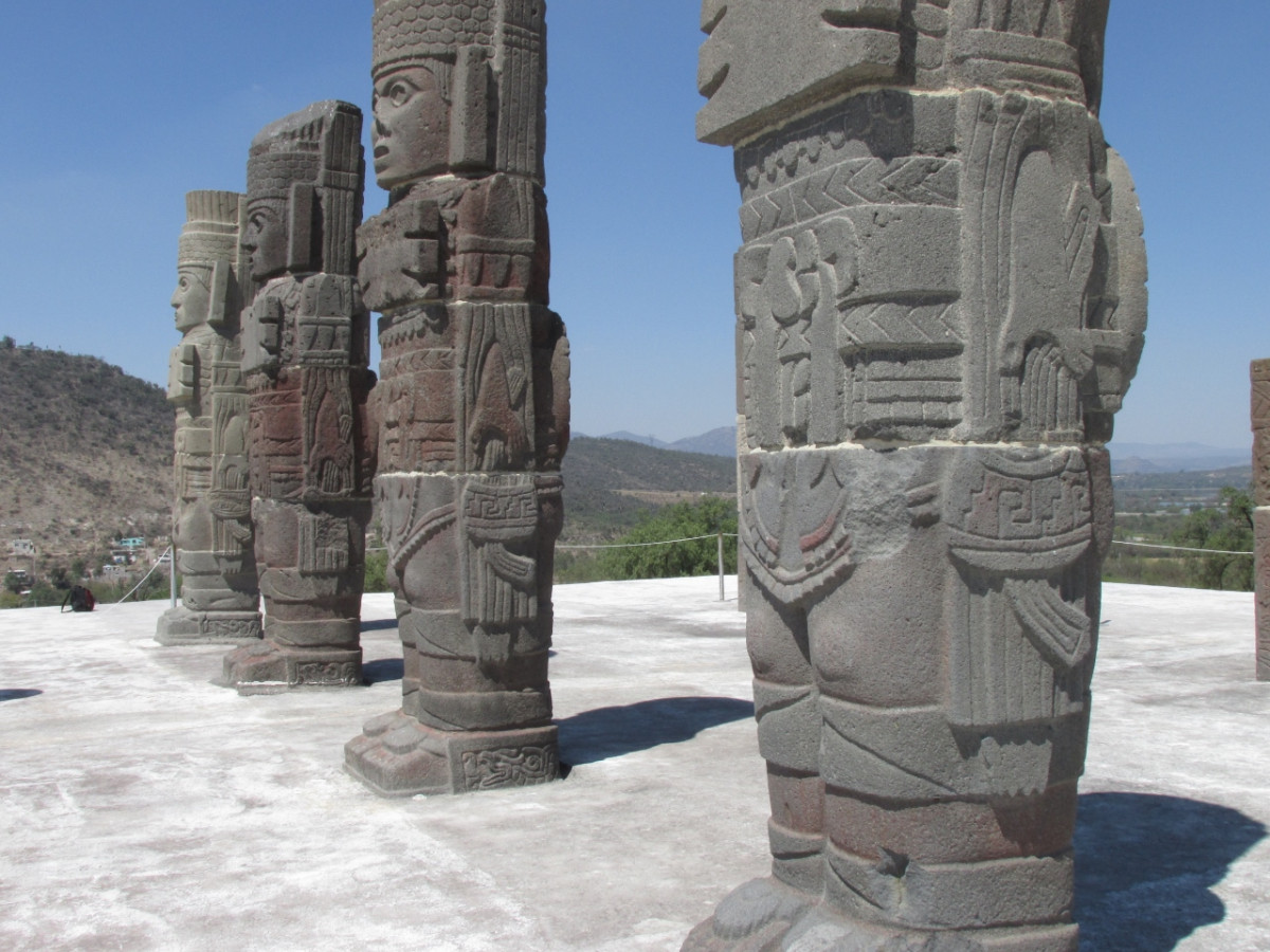 The Enigmatic Quot Atlantean Quot Stone Warriors Of Tula In Mexico