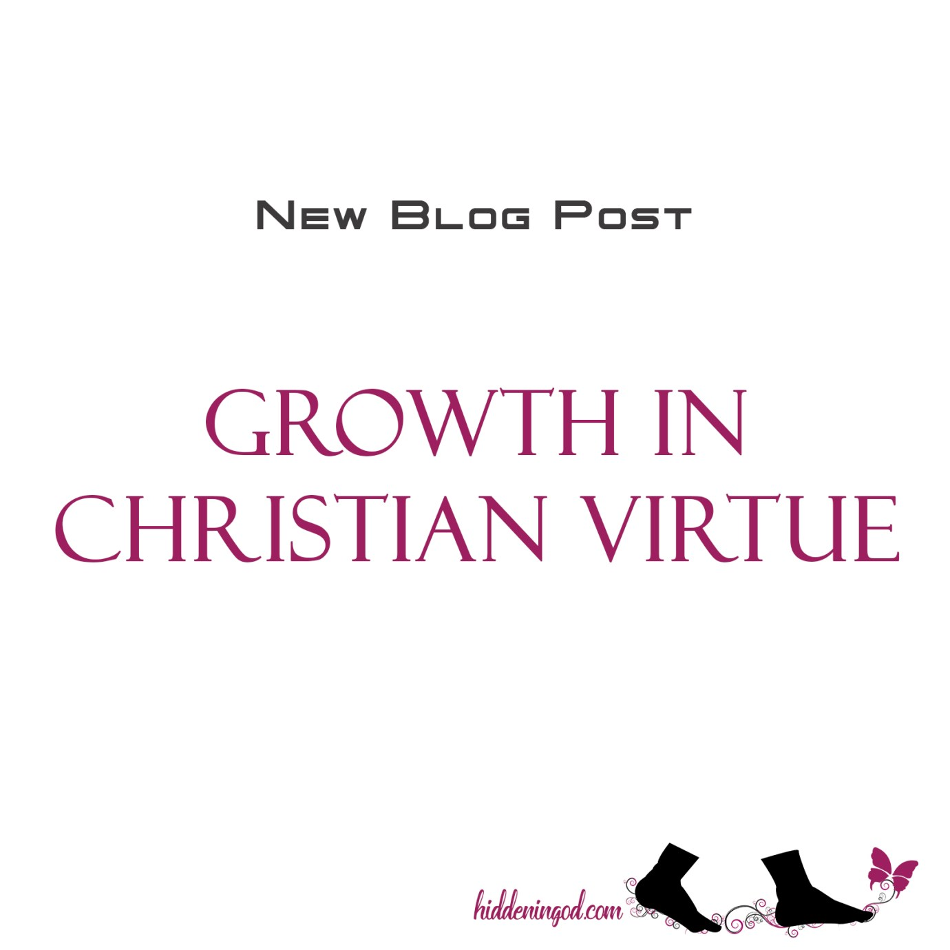 Growth in Christian Virtue