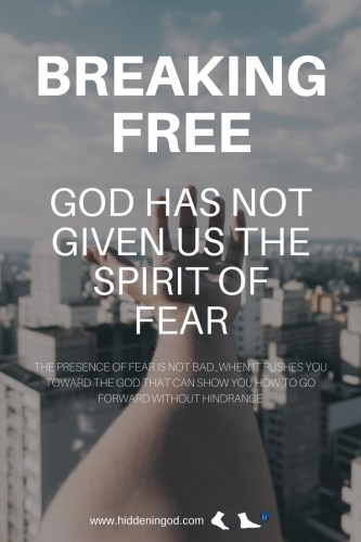 Are you feeling paralyzed? Are you feeling like you want to go forward but you can't? 2 steps forward and 5 steps back??? Fear. The culprit is fear.