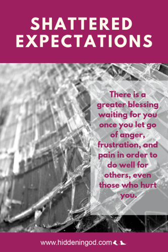 There is a greater blessing waiting for you once you let go of anger, frustration, and pain in order to do well for others, even those who hurt you.